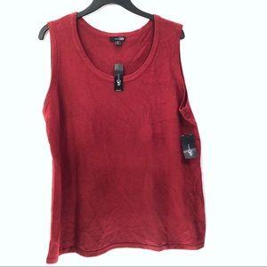 East 5th NWT Soft Sleeveless Career Sweater